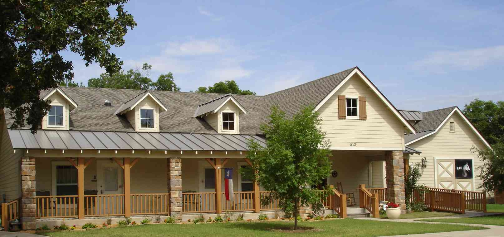 Texas Ranch House Style House Design Plans
